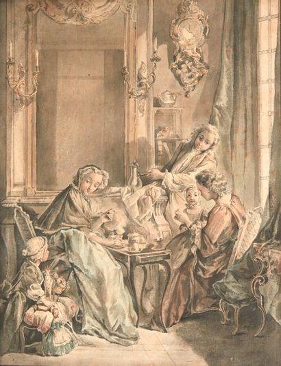 ÉCOLE FRANÇAISE du XVIIIe siècle, d'après François BOUCHER