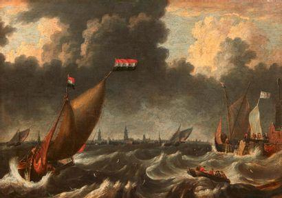 BONAVENTURE PEETERS(ANVERS 1614 - HOBOKEN 1652)