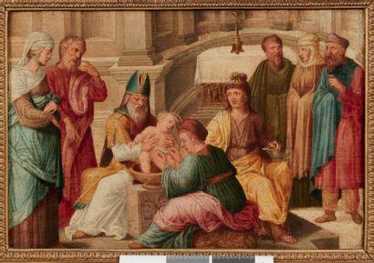 ECOLE FLAMANDE DU XVIE SIÈCLE, ENTOURAGE DE LAMBERT LOMBARD La circoncision La présentation...