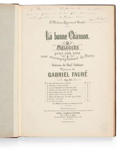 FAURE, Gabriel