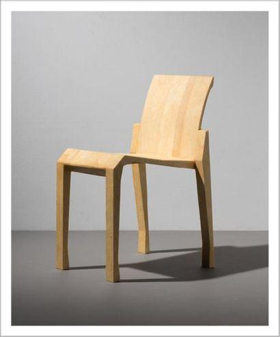 RICCARDO BLUMER (NÉ EN 1959) Italie Édition limitée de chaise pour une nouvelle version...