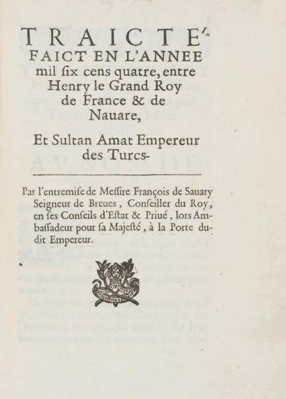SAVARY DE BRÈVES, François comte de
