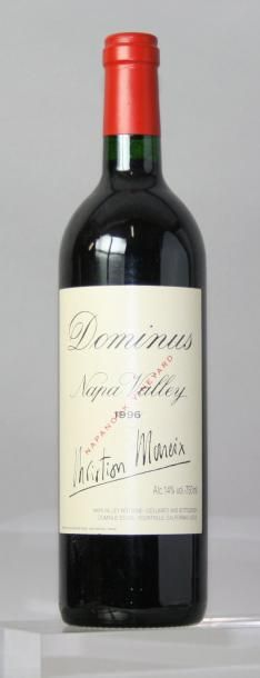 1 BOUTEILLE DOMINUS ESTATE NAPA VALLEY «NAPANOOK...