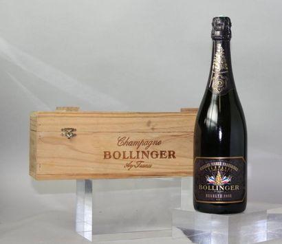 1 BOUTEILLE CHAMPAGNE BOLLINGER «Vieilles...