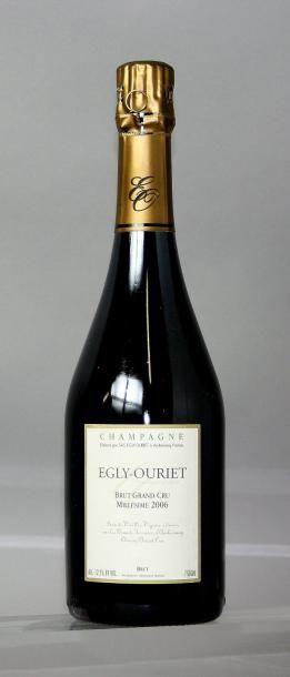 1 BOUTEILLE CHAMPAGNE EGLY OURIET VINTAGE...