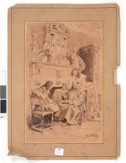 Charles Henri PILLE (1844-1897)