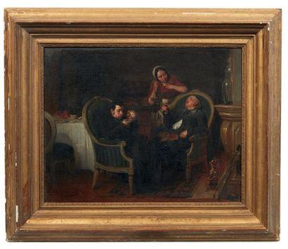 CLAUDIUS JACQUAND (1803-1878)