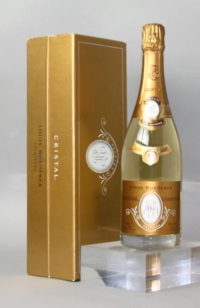 1 bouteille CHAMPAGNE CRISTAL DE ROEDERER...