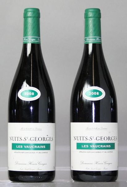 2 bouteilles NUITS St. GEORGES