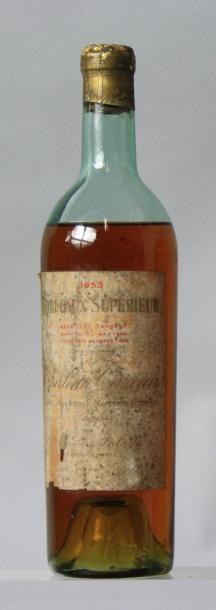 1 bouteille CHÂTEAU CAZEAU - Bordeaux supérieur...