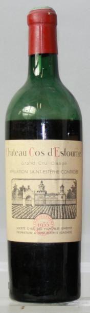 1 bouteille CHÂTEAU COS D'ESTOURNEL 2éme...