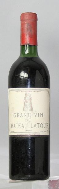 1 bouteille CHÂTEAU LATOUR 1er GCC - Pauillac...