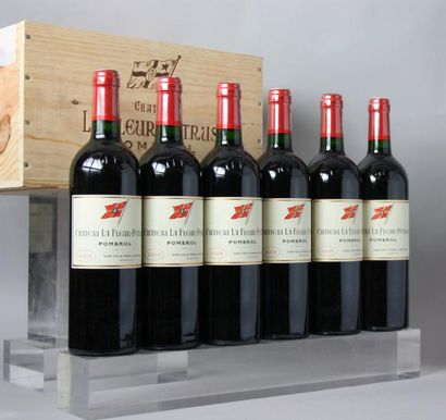 6 bouteilles CHÂTEAU LA FLEUR A POMEROL 2009...