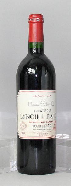 1 bouteille CHÂTEAU LYNCH BAGES 5éme GCC...