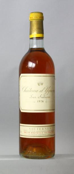 1 bouteille CHÂTEAU D'YQUEM 1er GC superieur...