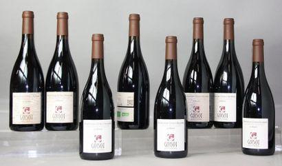 8 bouteilles BOURGOGNE CÔTES D'AUXERRE