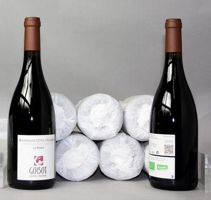 9 bouteilles BOURGOGNE CÔTES D'AUXERRE