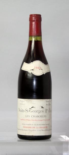 1 bouteille NUITS St. GEORGES 1er cru