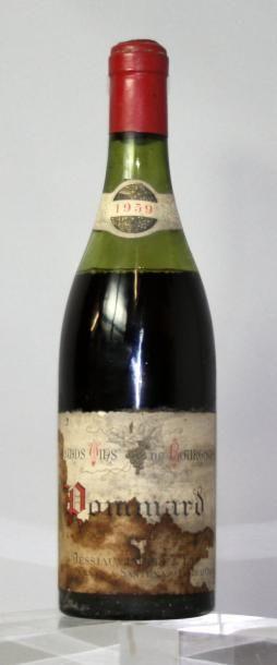 1 bouteille POMMARD - JESSIAUME P & F 1959...