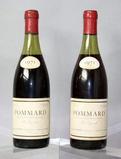 2 bouteilles POMMARD