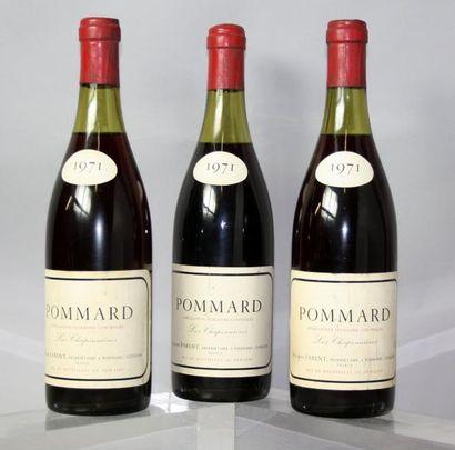3 bouteilles POMMARD