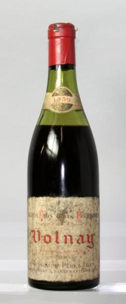 1 bouteille VOLNAY - JESSIAUME P & F 1959...