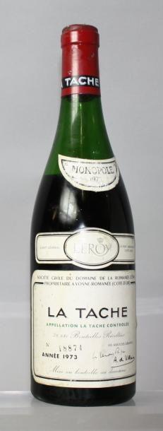 1 bouteille LA TÂCHE - Domaine de la ROMANEE...