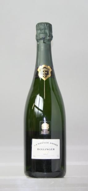 1 bouteille CHAMPAGNE BOLLINGER Grand année...