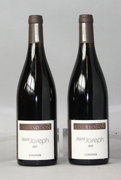 2 bouteilles SAINT JOSEPH