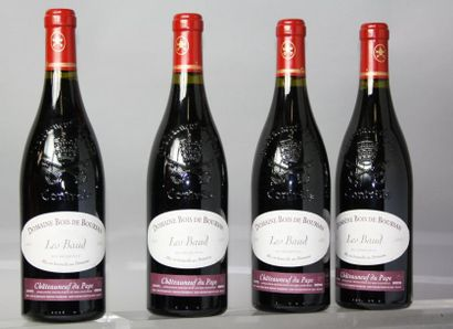 4 bouteilles CHATEAUNEUF DU PAPE