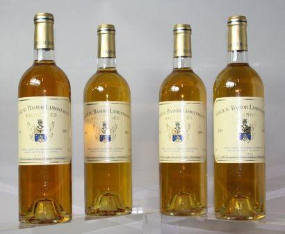 4 bouteilles CHÂTEAU BASTOR La MONTAGNE -...