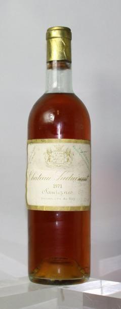 1 bouteille CHÂTEAU SUDUIRAUT 1er cru - Sauternes...