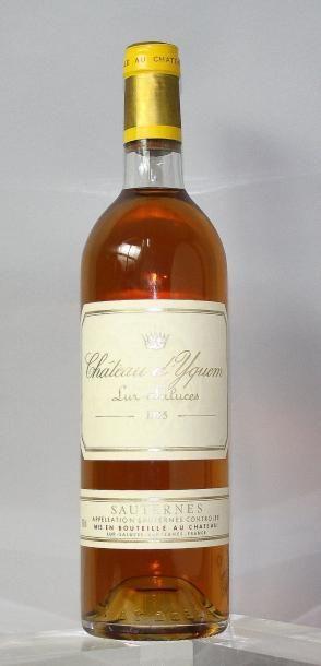 1 bouteille CHÂTEAU D'YQUEM 1er GC supérieur...