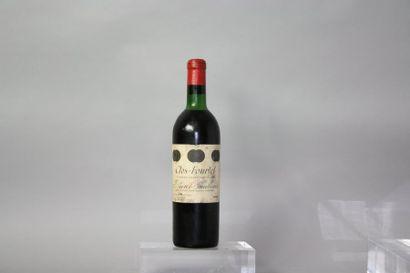 1 bouteille CLOS FOURTET 1er GCC - St. Emilion...
