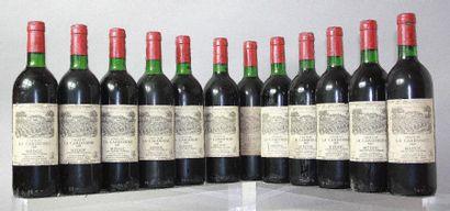 12 bouteilles CHÂTEAU LA CARDONNE - Médoc...