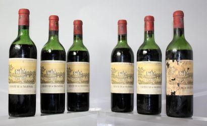 6 bouteilles CHÂTEAU D'AGASSAC - Haut Médoc...