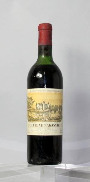 1 bouteille CHÂTEAU D'AGASSAC - Haut Médoc...