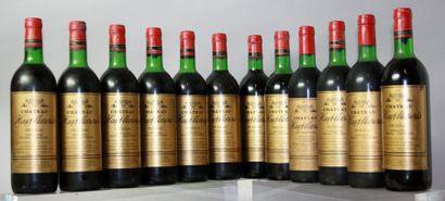 12 bouteilles CHATEAU HAUT MAZERIS - Canon...