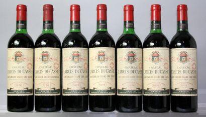 7 bouteilles CHÂTEAU LARCIS DUCASSE - St....