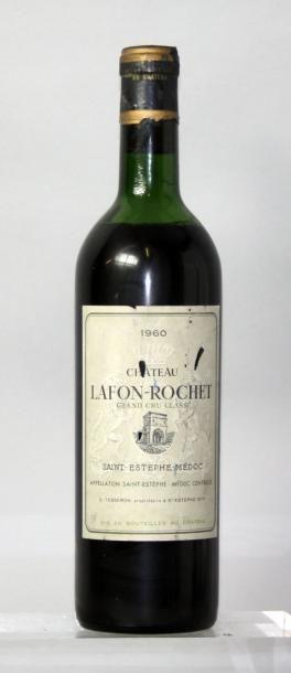 1 bouteille CHÂTEAU LAFON ROCHET - St. Estephe...