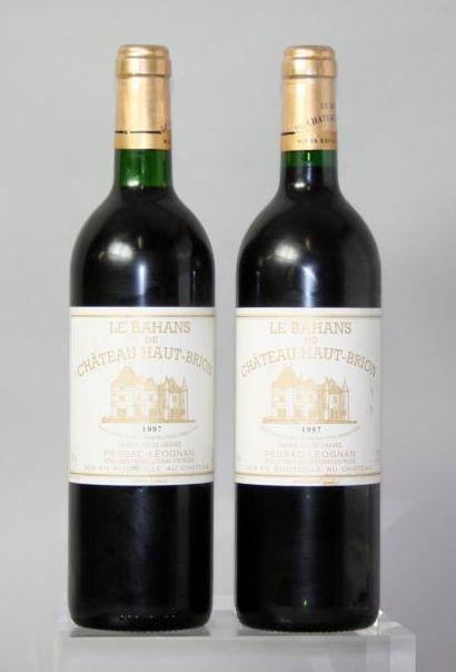 2 bouteilles CHÂTEAU BAHANS D'HAUT BRION...
