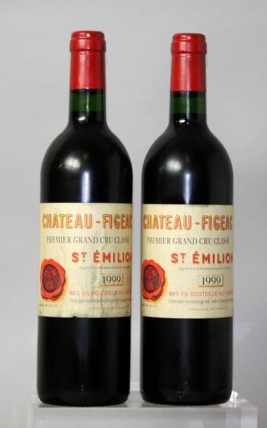 2 bouteilles CHÂTEAU FIGEAC 1er GCC - St....