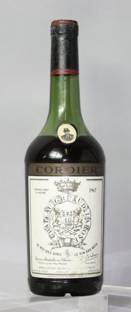 1 bouteille CHÂTEAU GRUAUD LAROSE 2éme GCC...