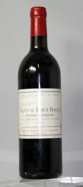 1 bouteille CHÂTEAU HAUT BAILLY Grand cru...