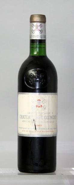 1 bouteille CHÂTEAU PAPE CLEMENT GC - Graves...