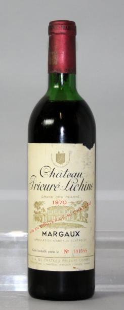 1 bouteille CHÂTEAU PRIEURE LICHINE 4éme...