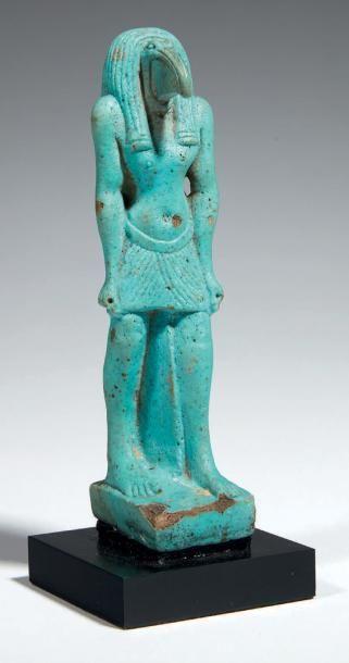 THOT-IBIS. Grande figurine représentant le...