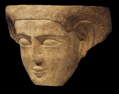 MASQUE DE SARCOPHAGE. Masque de sarcophage...