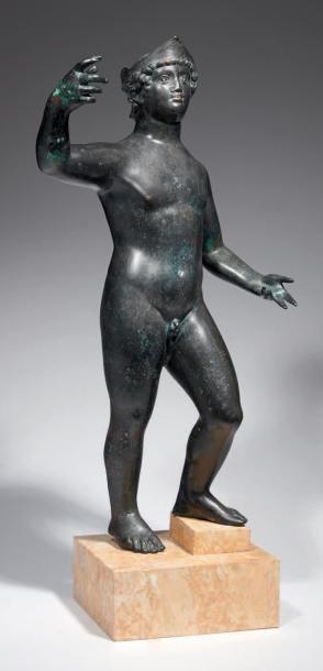 STATUE DE MARS. Grande statue représentant...
