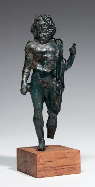 *STATUETTE DE JUPITER. Statuette représentant...